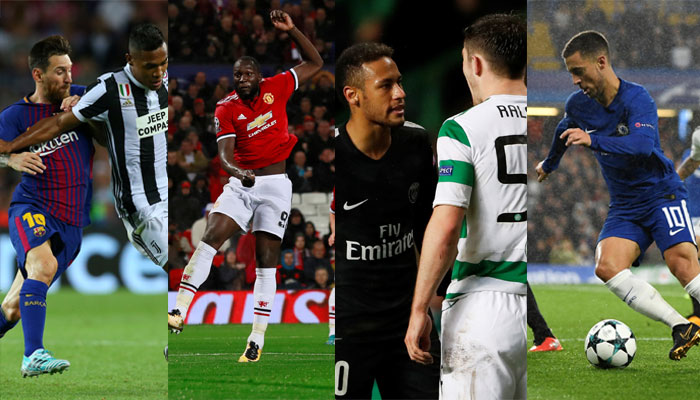 Barcelona, PSG, Man Utd, Bayern, Chelsea claim big wins in 28-goal opening day of UCL Group Stage