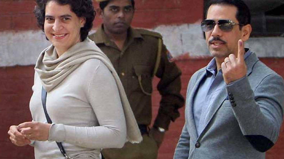 Please keep her safe': Robert Vadra gets emotional as wife Priyanka joins politics