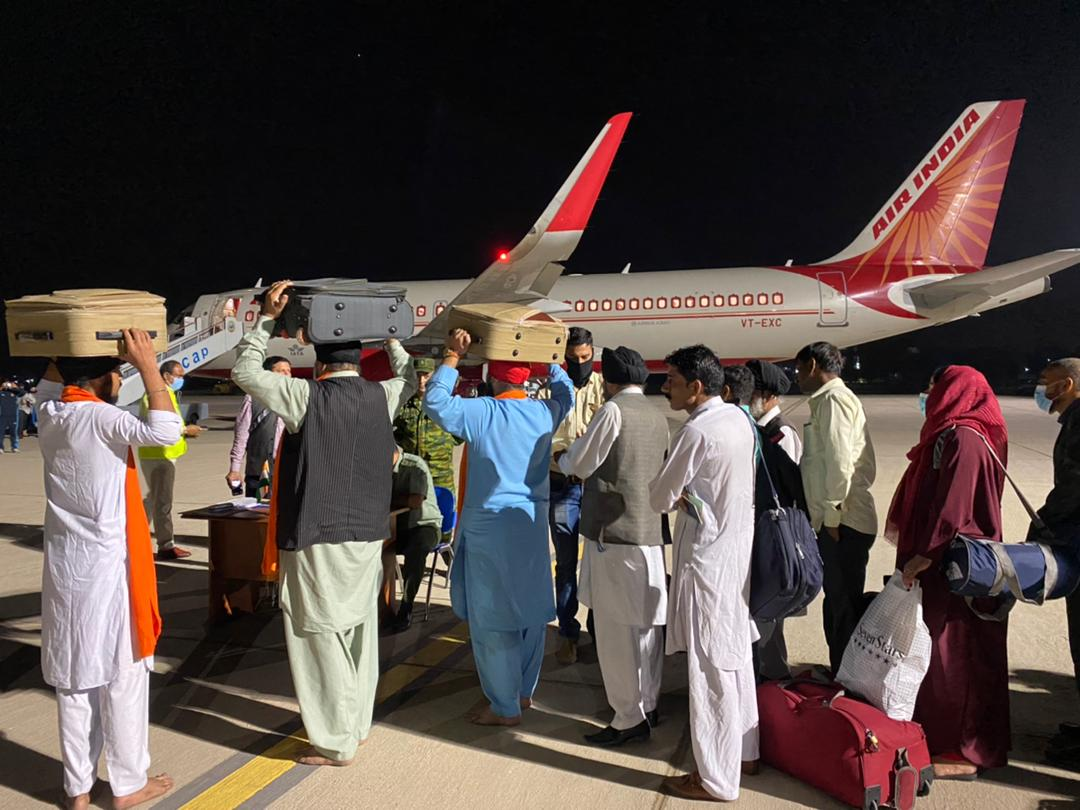 Air India flight with 78 people evacuated from Afghanistan lands in Delhi