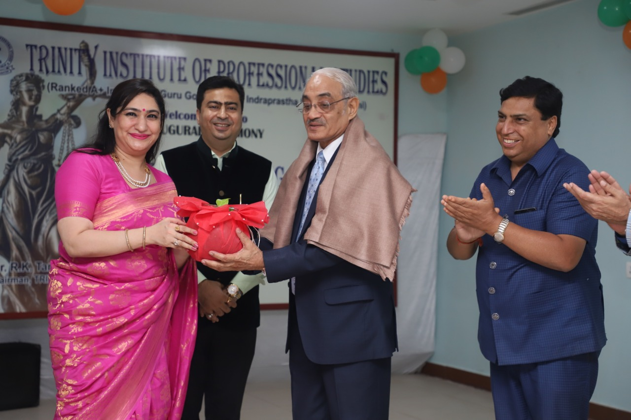 TIPS ORGANISED INAUGURAL CEREMONY OF THE LAW DEPARTMENT