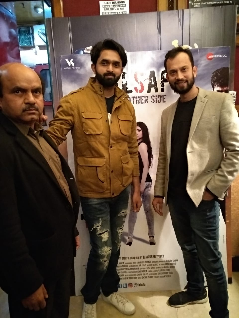 Falsafa star cast in Nations Capital for the Red Carpet Premiere!