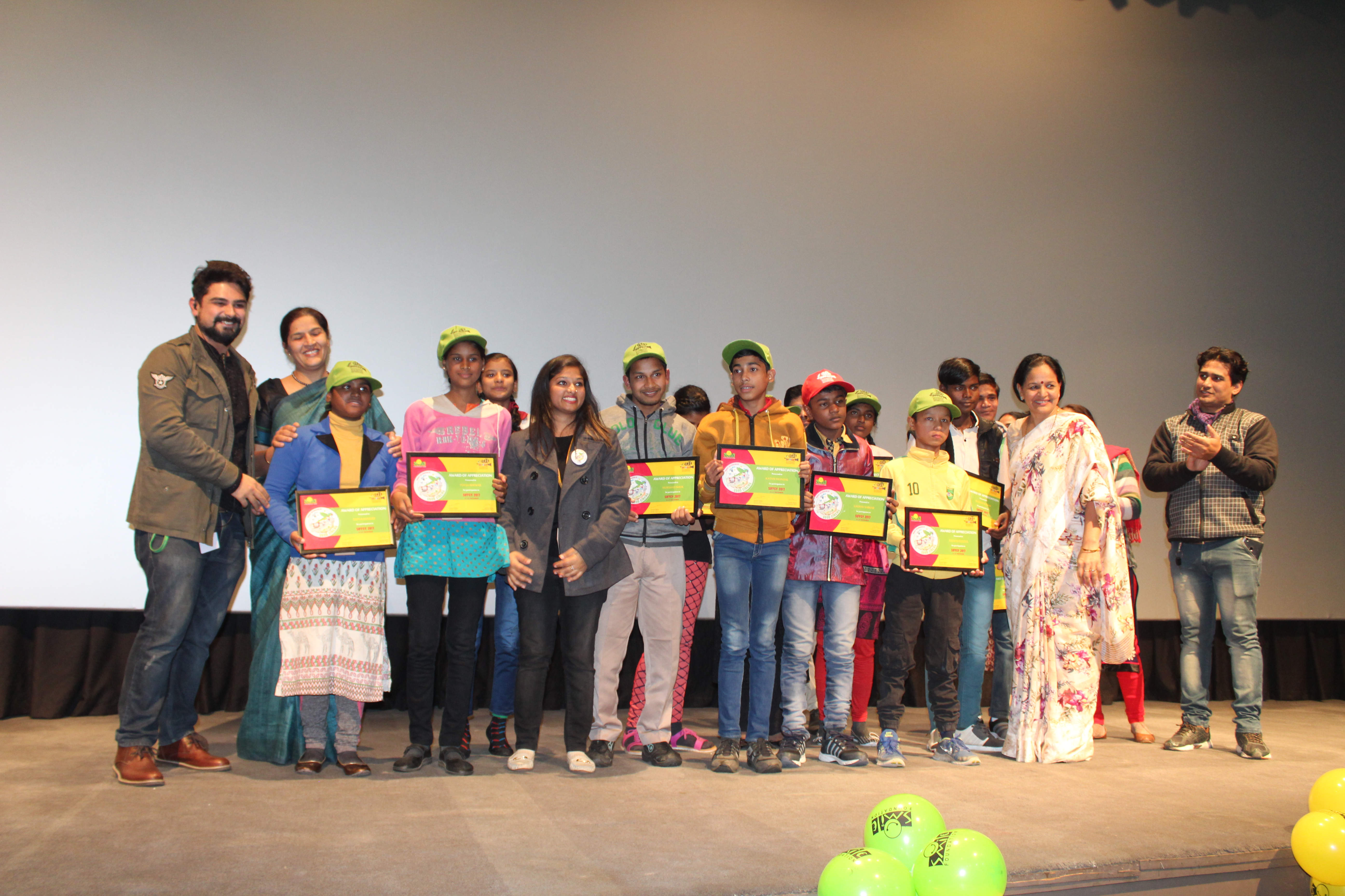 The Awards for SIFFCY 2017 Announced in a presence of Children & Youth along with Juries!
