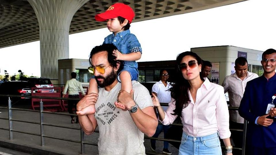 Saif Ali Khan gets angry over paparazzi clicking Taimur, says 'Stop it, the child will go blind'