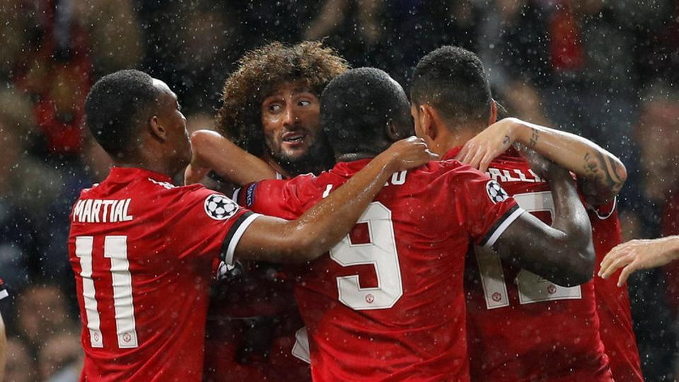 Manchester United F.C. beat FC Basel on return to Champions League