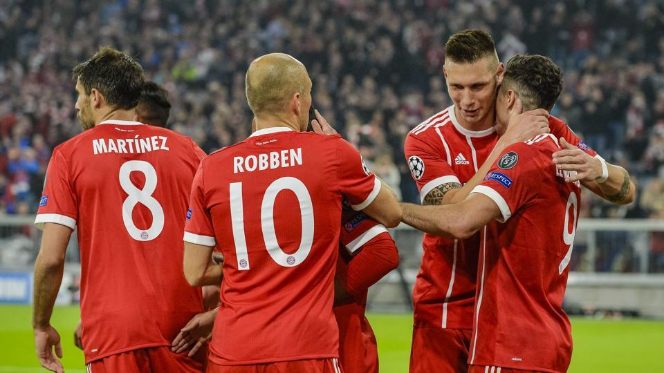 Bayern Munich register 3-0 win over 10-man Anderlecht in Champions League