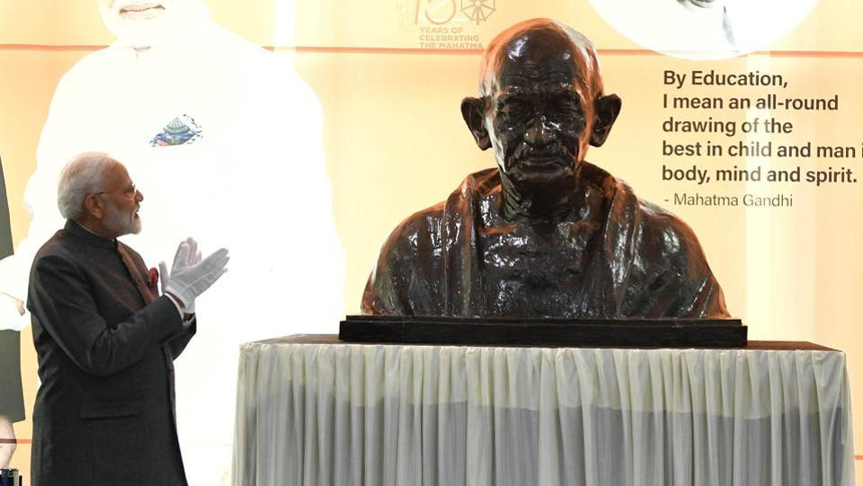 Marking Gandhi's 150th anniversary