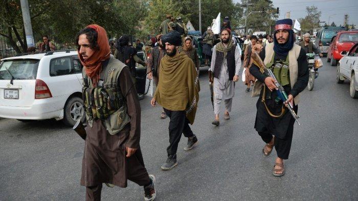 Taliban Fire Shot To Disperse Anti-Pakistan Rally In Kabul