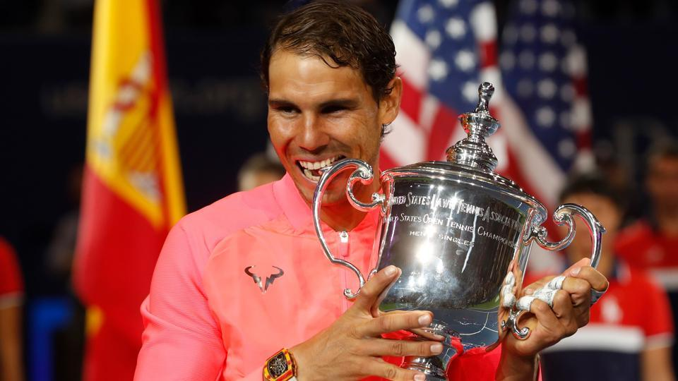 Rafael Nadal vs Kevin Anderson US Open tennis 2017 final video highlights